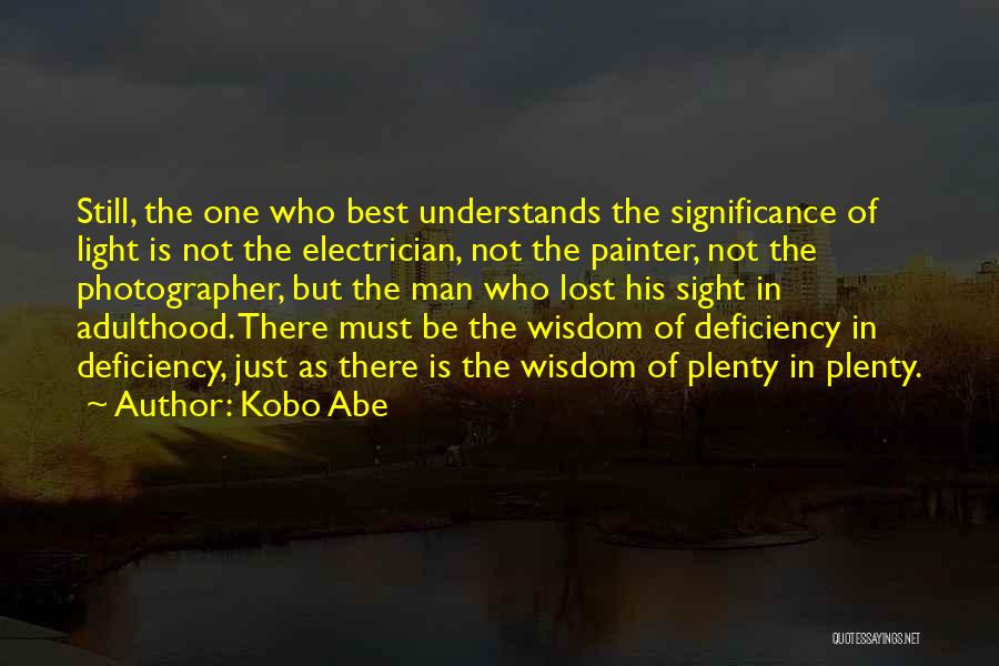 Best Painter Quotes By Kobo Abe