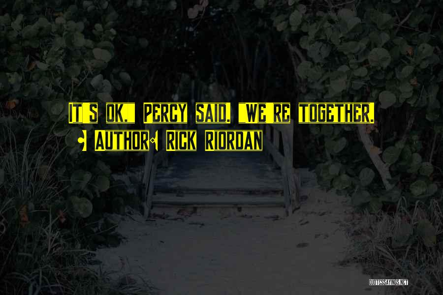 Best Percabeth Quotes By Rick Riordan