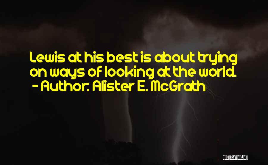 Best Persuasion Quotes By Alister E. McGrath