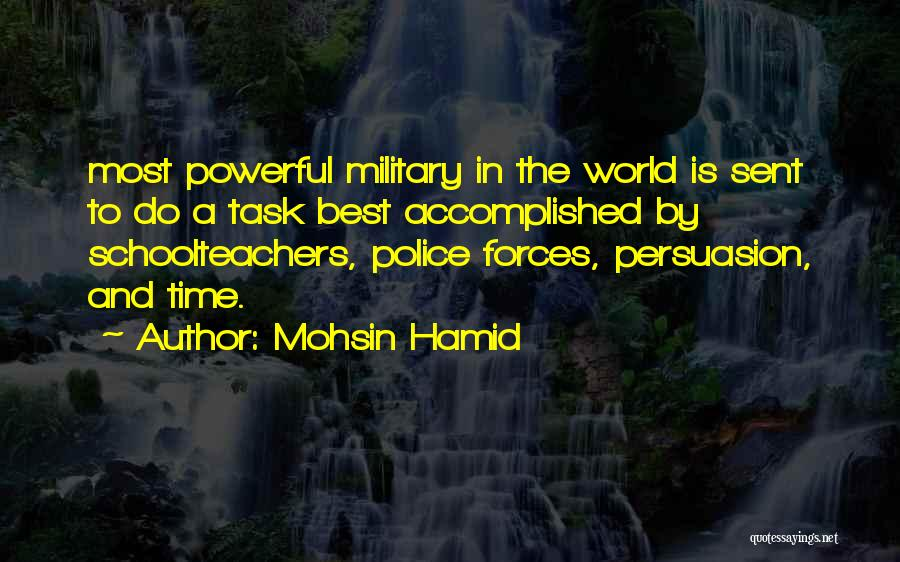 Best Persuasion Quotes By Mohsin Hamid