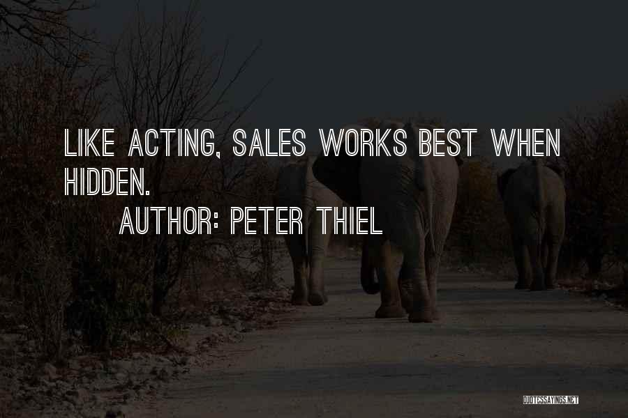 Best Persuasion Quotes By Peter Thiel
