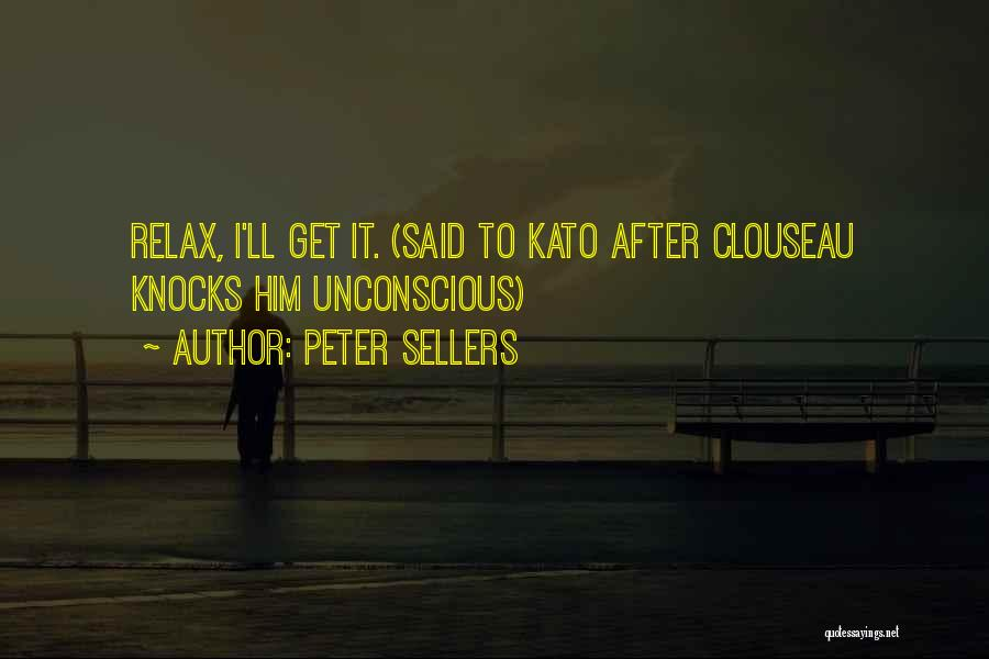 Best Peter Sellers Quotes By Peter Sellers