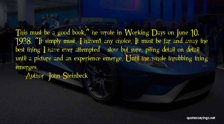 Best Picture Book Quotes By John Steinbeck