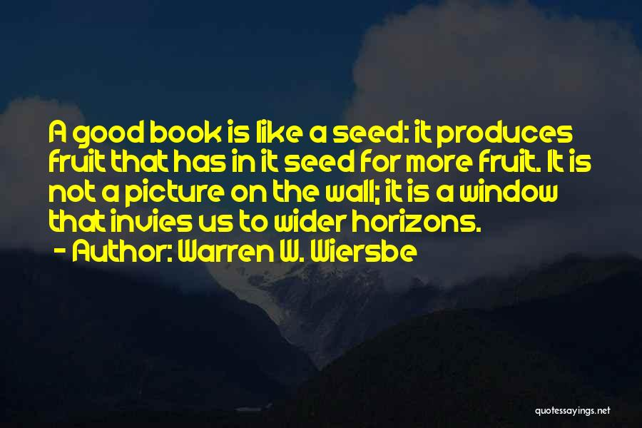 Best Picture Book Quotes By Warren W. Wiersbe