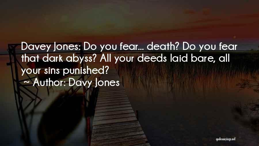 Best Pirates Of The Caribbean Quotes By Davy Jones