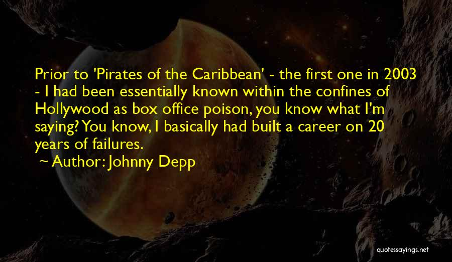 Best Pirates Of The Caribbean Quotes By Johnny Depp
