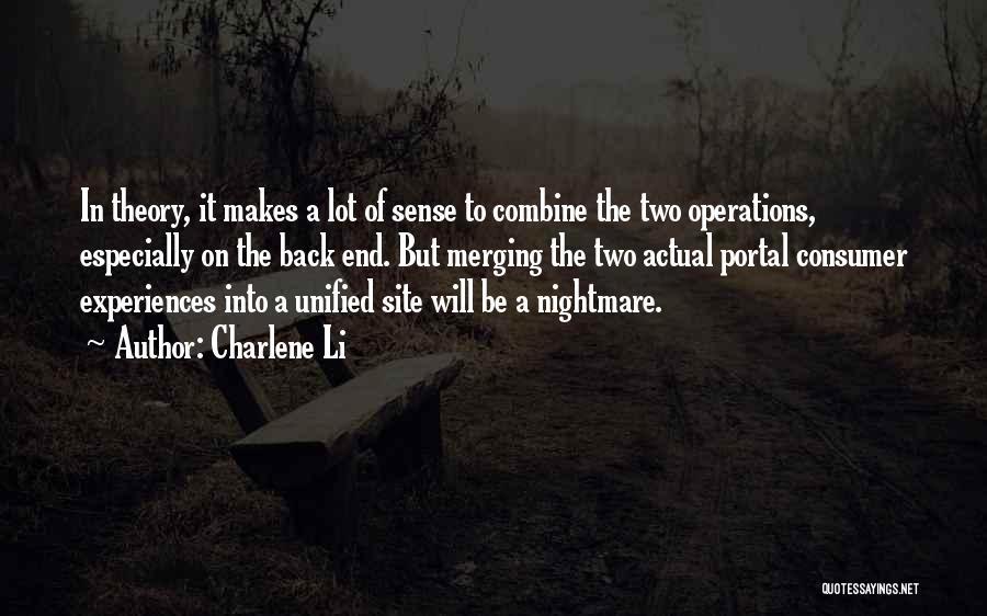 Best Portal 1 Quotes By Charlene Li