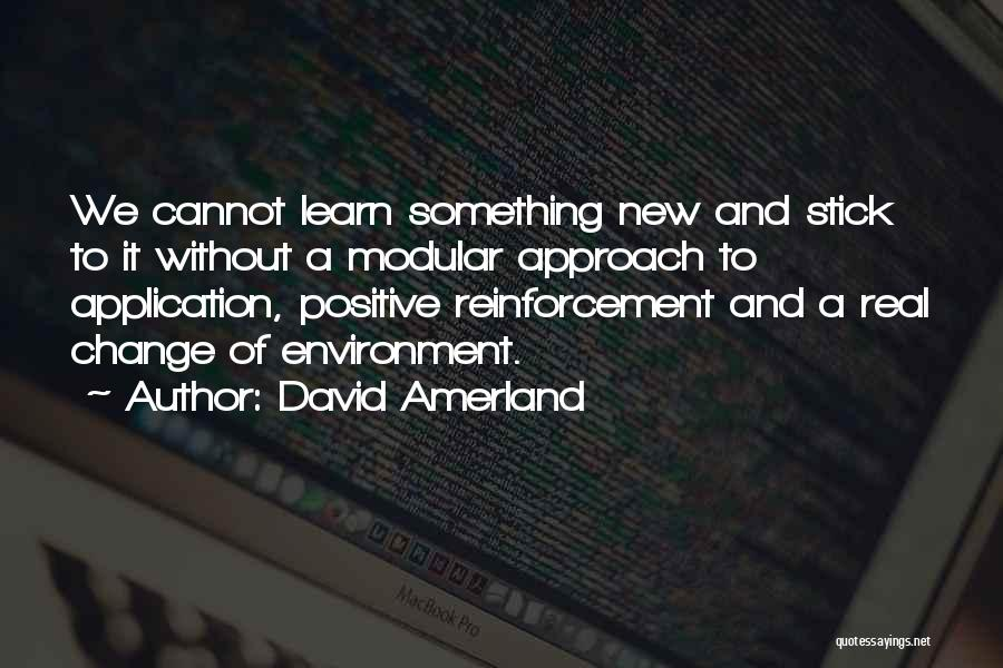 Best Positive Mind Quotes By David Amerland