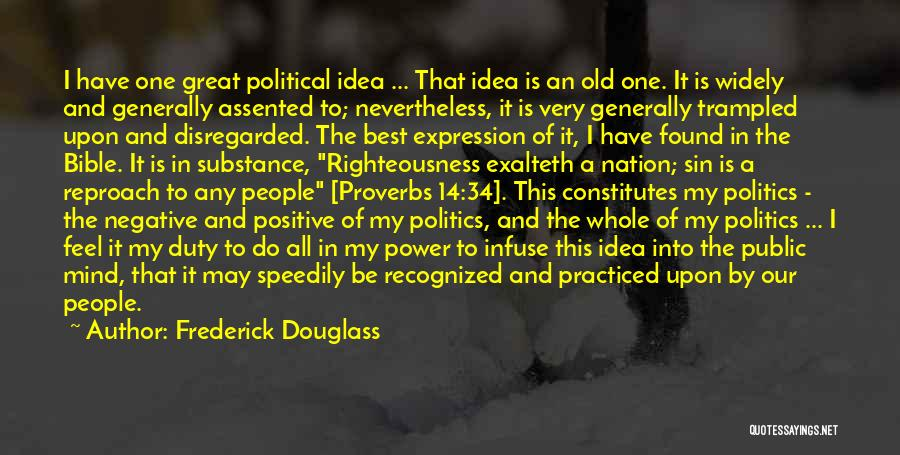 Best Positive Mind Quotes By Frederick Douglass