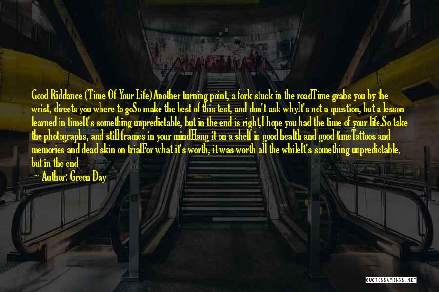 Best Positive Mind Quotes By Green Day
