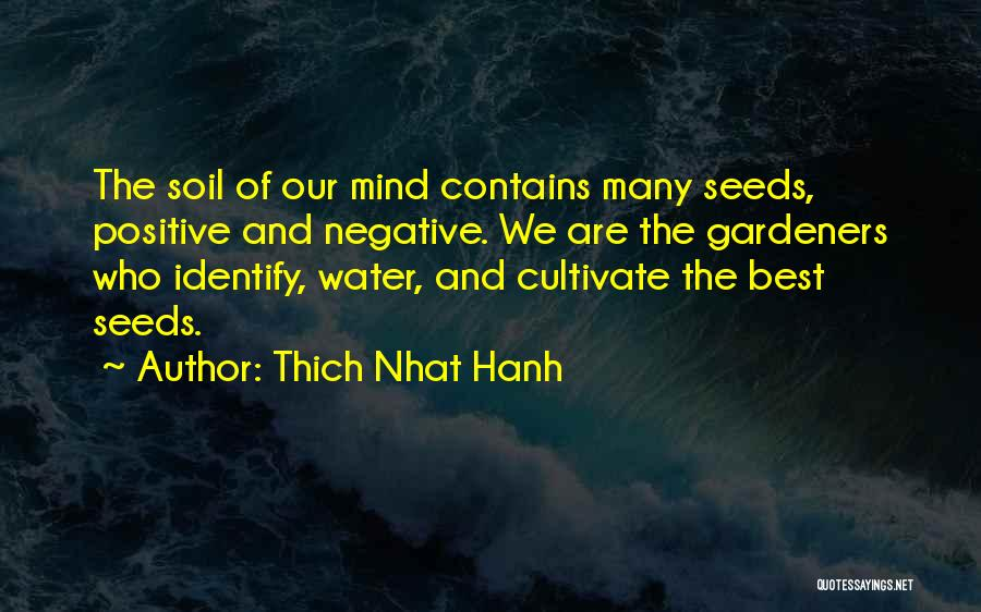 Best Positive Mind Quotes By Thich Nhat Hanh