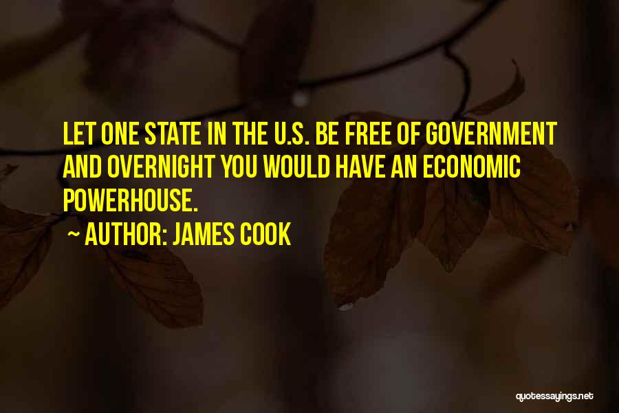 Best Powerhouse Quotes By James Cook