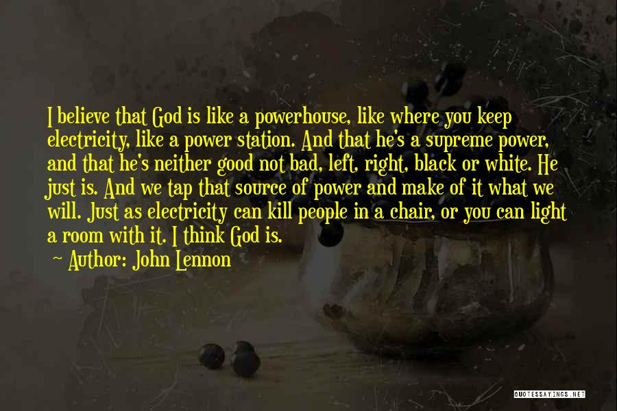 Best Powerhouse Quotes By John Lennon