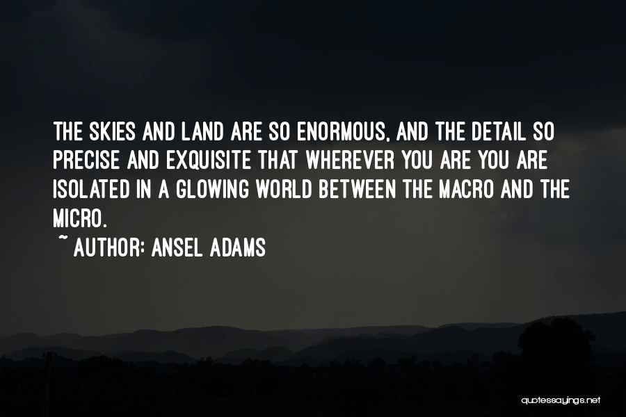 Best Precise Quotes By Ansel Adams