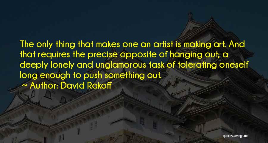 Best Precise Quotes By David Rakoff