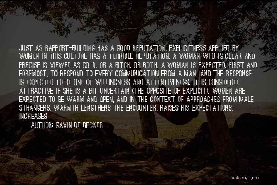 Best Precise Quotes By Gavin De Becker