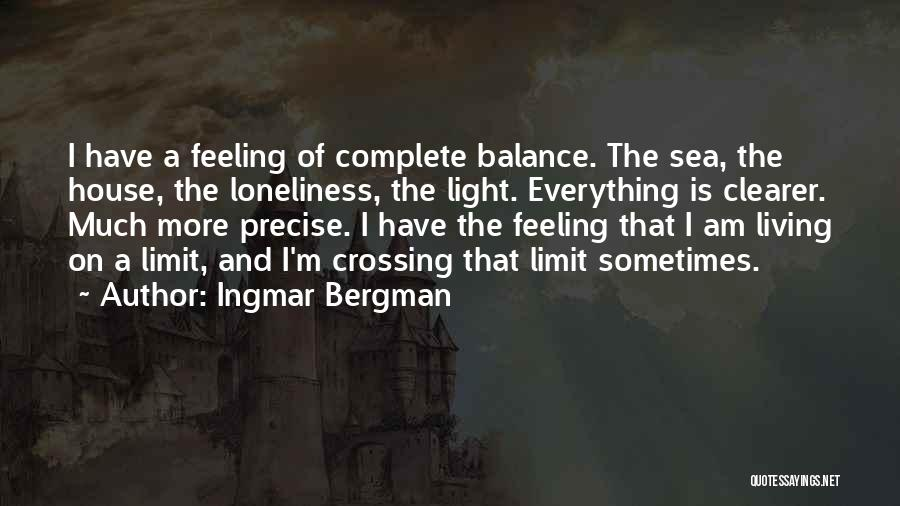 Best Precise Quotes By Ingmar Bergman
