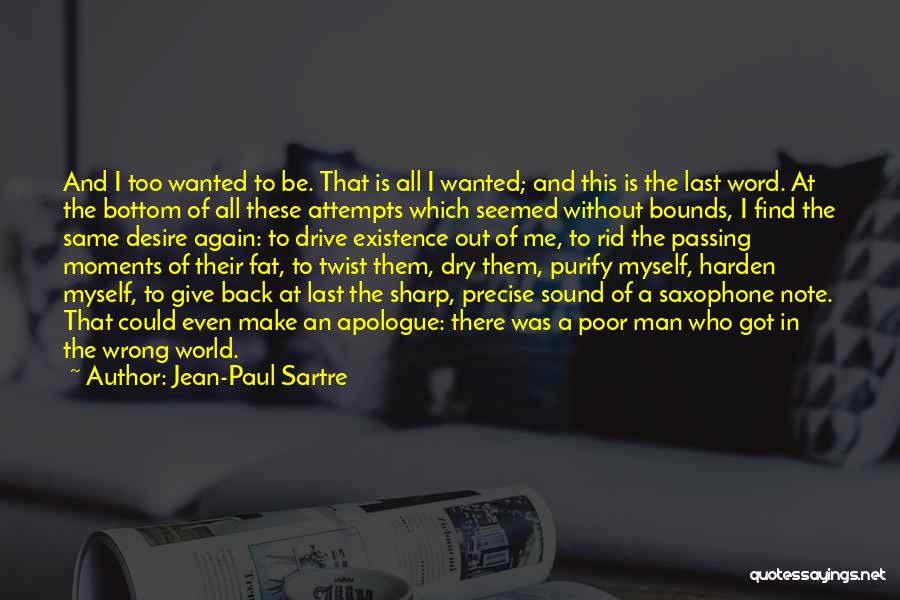 Best Precise Quotes By Jean-Paul Sartre