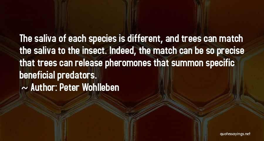Best Precise Quotes By Peter Wohlleben