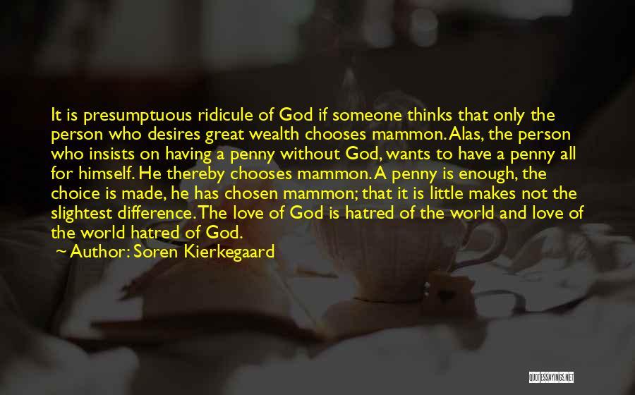 Best Presumptuous Quotes By Soren Kierkegaard