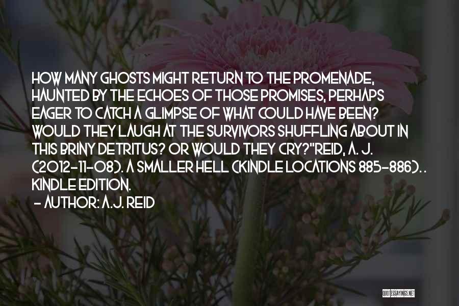 Best Promenade Quotes By A.J. Reid