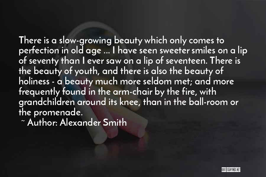 Best Promenade Quotes By Alexander Smith