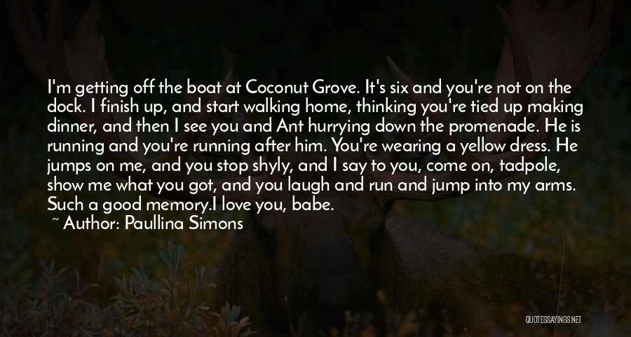 Best Promenade Quotes By Paullina Simons