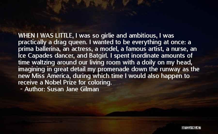 Best Promenade Quotes By Susan Jane Gilman