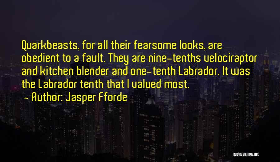 Best Quark Quotes By Jasper Fforde