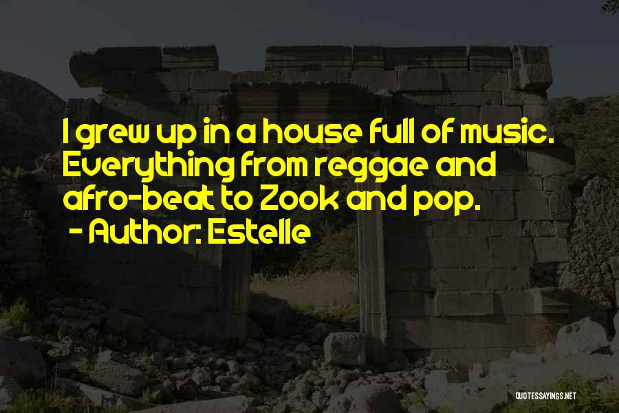 Best Reggae Music Quotes By Estelle