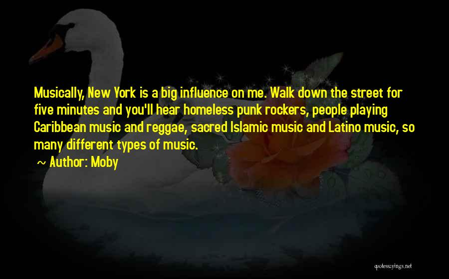 Best Reggae Music Quotes By Moby