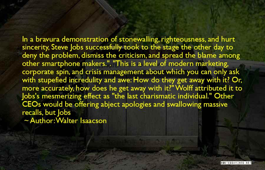 Best Relationship Problem Quotes By Walter Isaacson