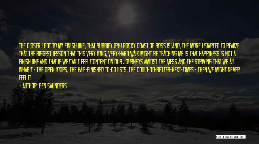 Best Rocky Inspirational Quotes By Ben Saunders