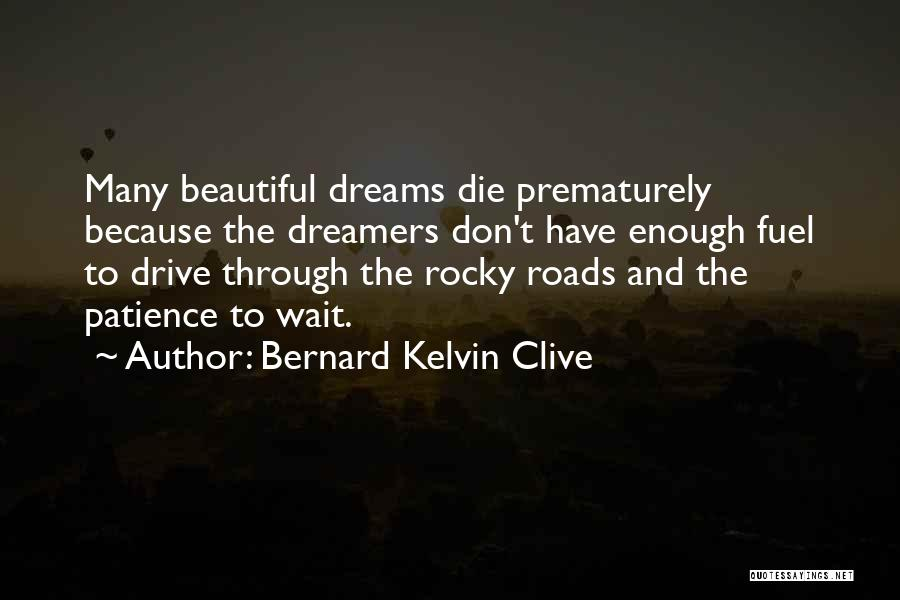 Best Rocky Inspirational Quotes By Bernard Kelvin Clive
