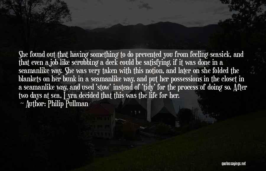 Best Seafaring Quotes By Philip Pullman