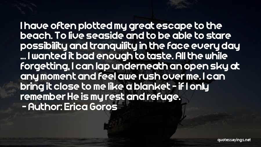 Best Seaside Quotes By Erica Goros