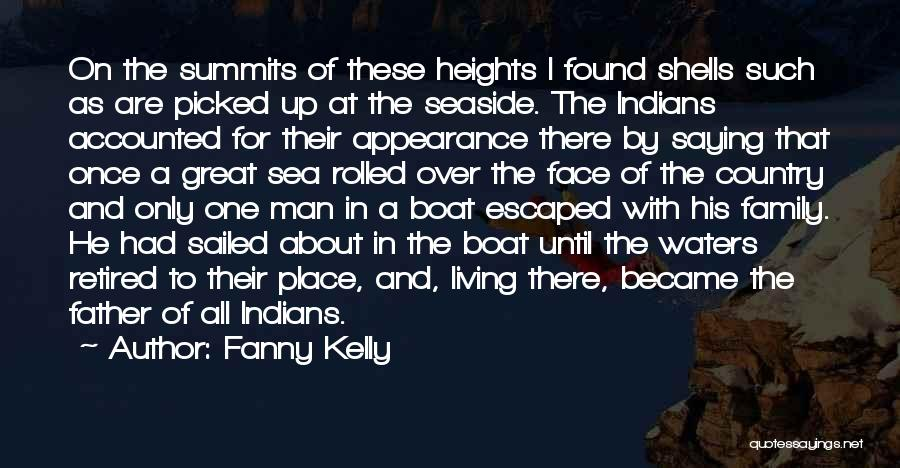 Best Seaside Quotes By Fanny Kelly