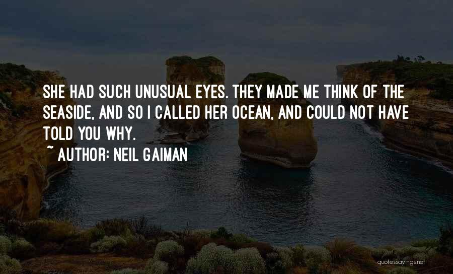 Best Seaside Quotes By Neil Gaiman