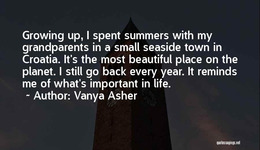 Best Seaside Quotes By Vanya Asher
