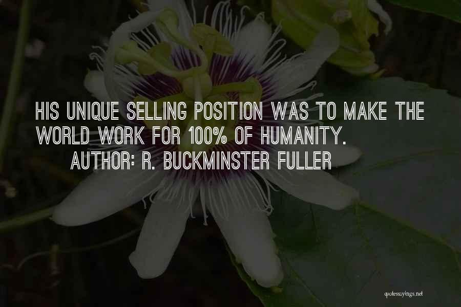 Best Selling Inspirational Quotes By R. Buckminster Fuller
