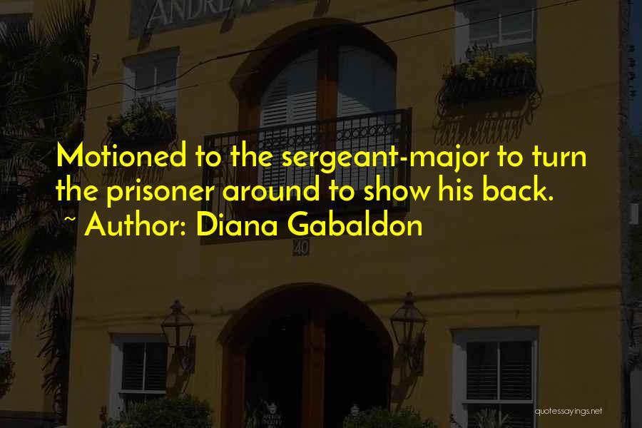 Best Sergeant Major Quotes By Diana Gabaldon