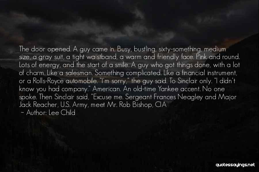 Best Sergeant Major Quotes By Lee Child