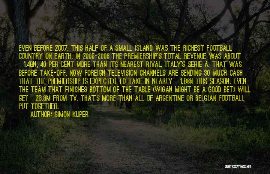 Best Serie Quotes By Simon Kuper