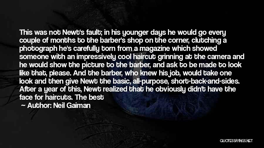 Best Short Cool Quotes By Neil Gaiman