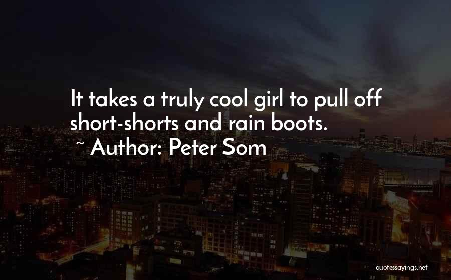 Best Short Cool Quotes By Peter Som
