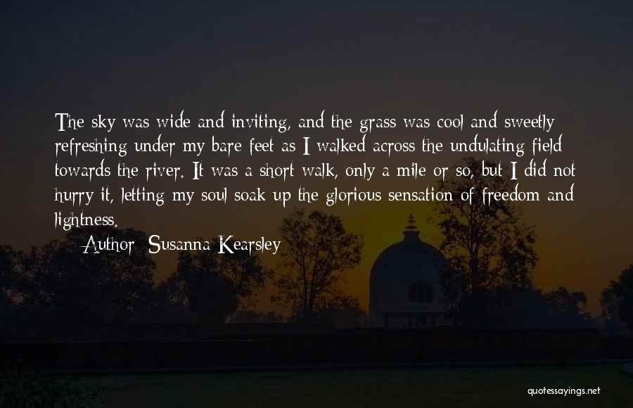 Best Short Cool Quotes By Susanna Kearsley