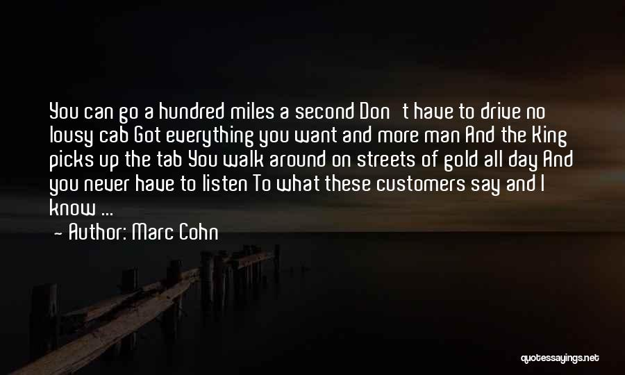Best Song For Quotes By Marc Cohn