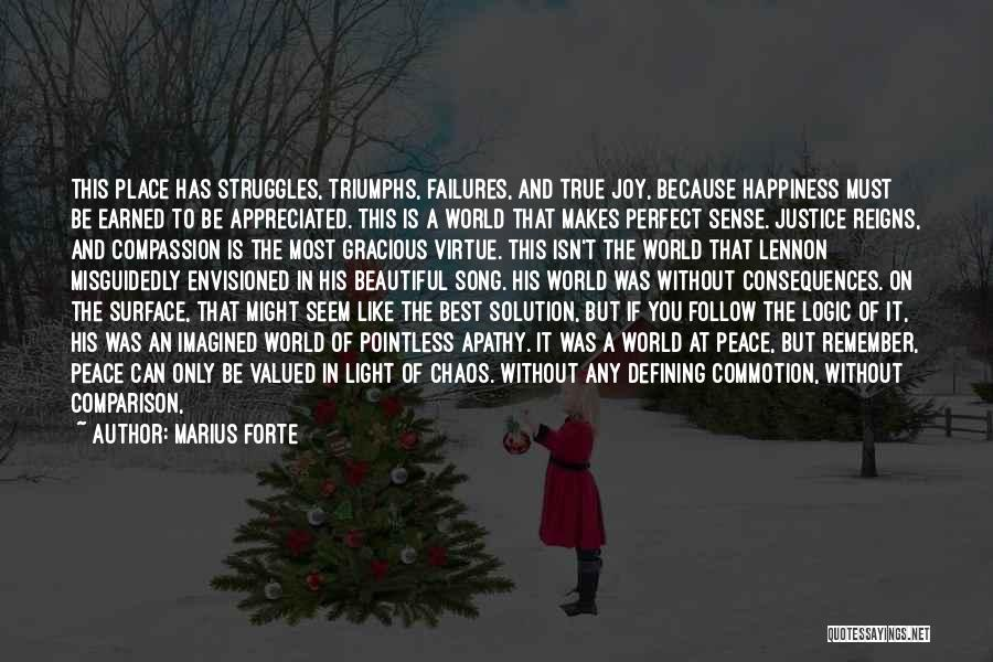 Best Song For Quotes By Marius Forte