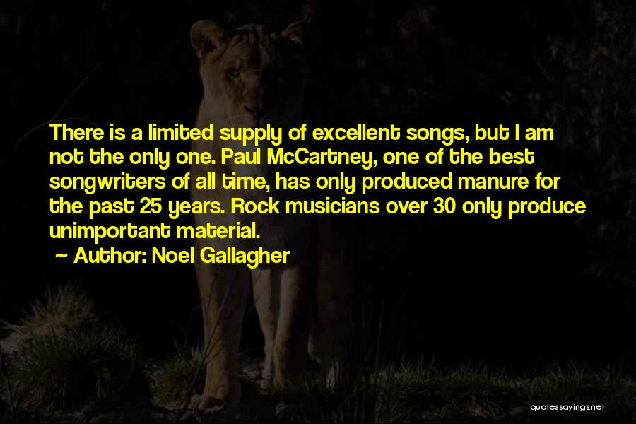 Best Song For Quotes By Noel Gallagher