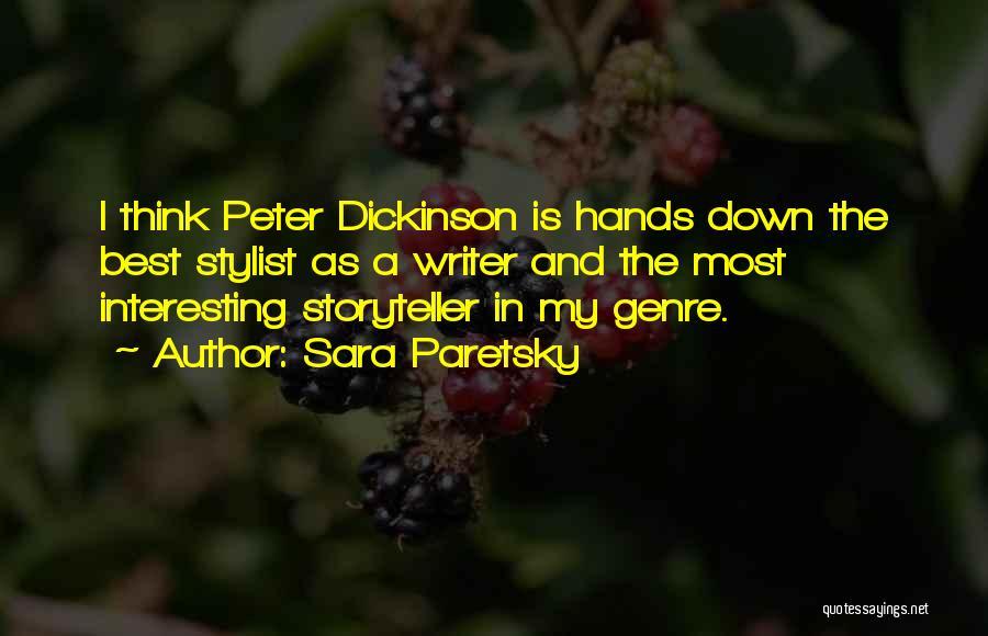 Best Stylist Quotes By Sara Paretsky